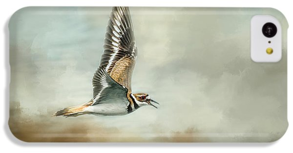 Killdeer iPhone 5c Case - Flight Of The Killdeer by Jai Johnson