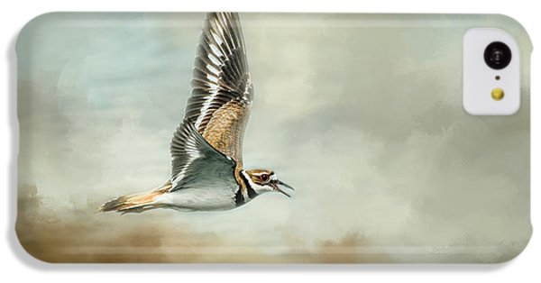 Flight Of The Killdeer IPhone 5c Case by Jai Johnson