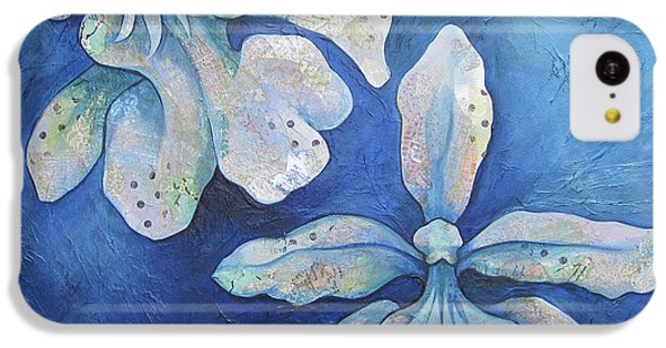 Orchid iPhone 5c Case - Floating Orchid by Shadia Derbyshire