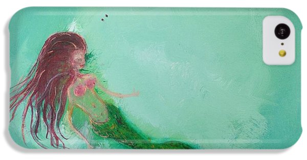 iPhone 5c Case - Floaty Mermaid by Roxy Rich