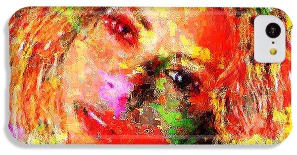 Flowery Shakira IPhone 5c Case by Navo Art