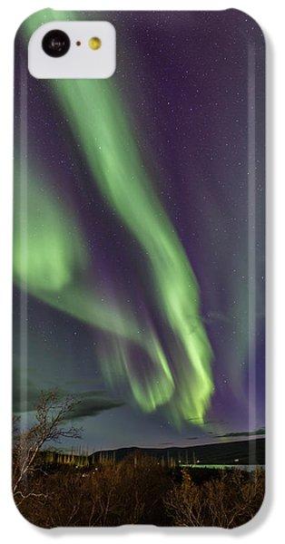 Flowing Aurora IPhone 5c Case by Hitendra SINKAR