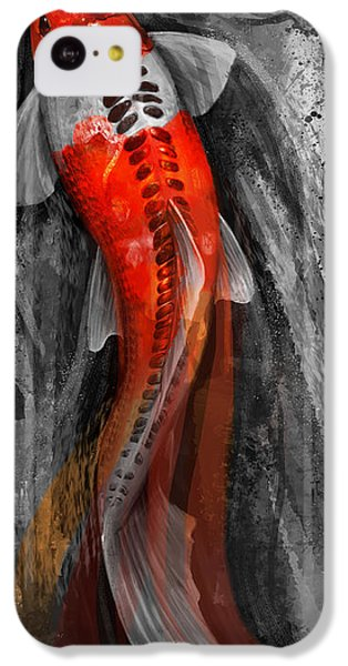 Flowing Koi IPhone 5c Case by Steve Goad