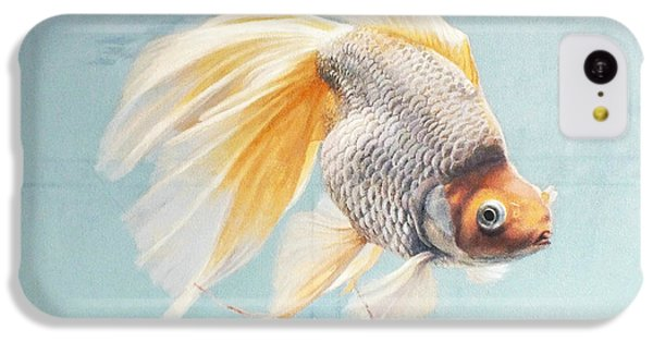 Flying In The Clouds Of Goldfish IPhone 5c Case by Chen Baoyi