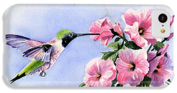 Humming Bird iPhone 5c Case - Flying Jewel by David Rogers