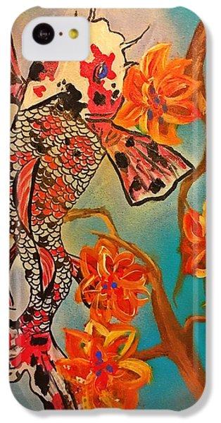 Focus Flower  IPhone 5c Case by Miriam Moran