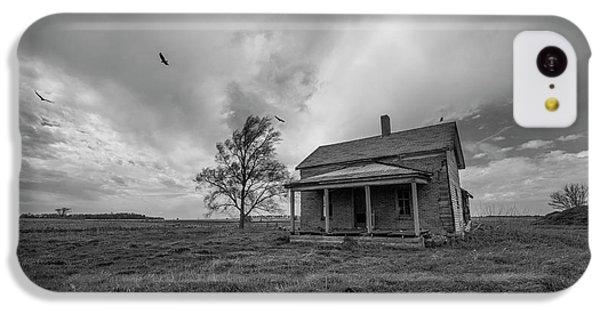 Buzzard iPhone 5c Case - Follow The Buzzards by Aaron J Groen
