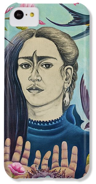 Humming Bird iPhone 5c Case - For Frida by Sheri Howe