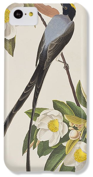 Fork-tailed Flycatcher  IPhone 5c Case by John James Audubon