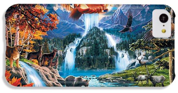Four Seasons IPhone 5c Case by Robin Koni