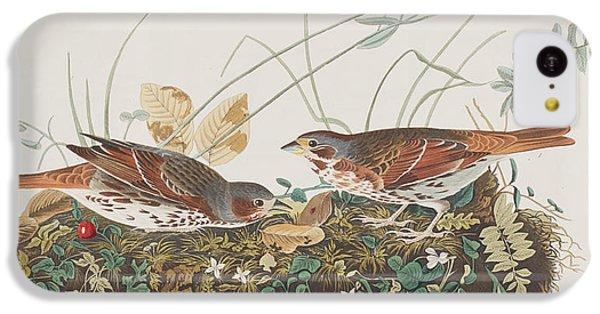 Fox Sparrow IPhone 5c Case by John James Audubon