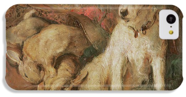 Fox Terrier With The Day's Bag IPhone 5c Case by English School