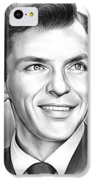 Frank Sinatra IPhone 5c Case by Greg Joens