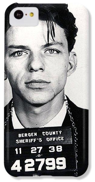 Frank Sinatra Mug Shot Vertical IPhone 5c Case by Tony Rubino