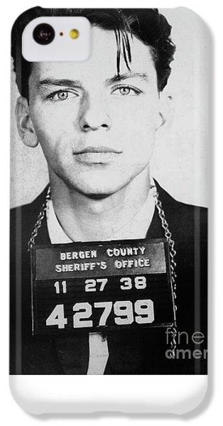 Frank Sinatra Mugshot IPhone 5c Case by Jon Neidert