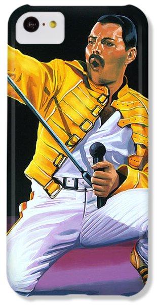 Freddie Mercury Live IPhone 5c Case by Paul Meijering