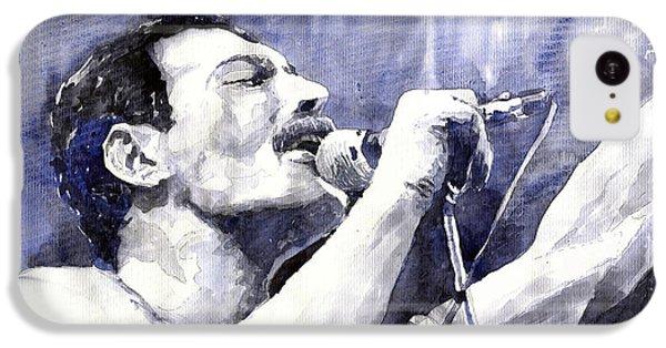 Figurative iPhone 5c Case - Freddie Mercury by Yuriy Shevchuk