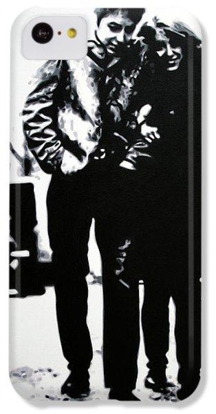 Bob Dylan iPhone 5c Case - Freewheelin by Hood alias Ludzska
