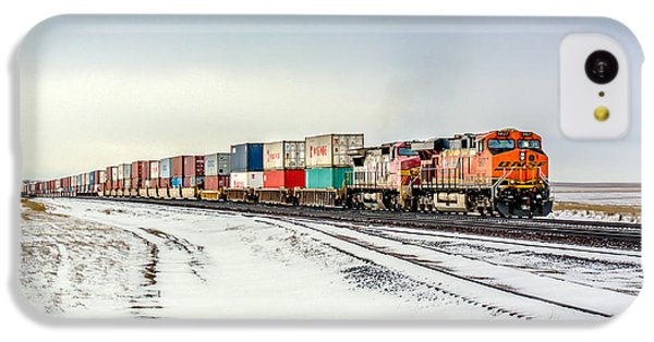 Train iPhone 5c Case - Freight Train by Todd Klassy