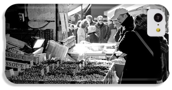French Street Market IPhone 5c Case by Sebastian Musial