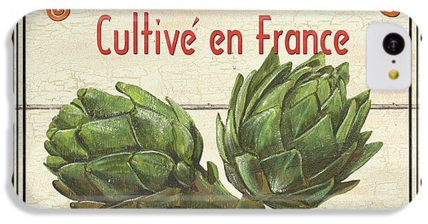 French Vegetable Sign 2 IPhone 5c Case by Debbie DeWitt