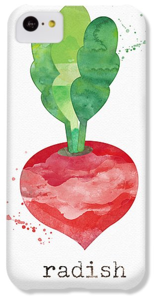 Rural Scenes iPhone 5c Case - Fresh Radish by Linda Woods