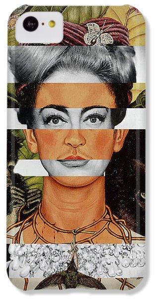 Frida Kahlo And Joan Crawford IPhone 5c Case by Luigi Tarini