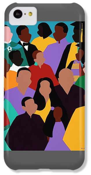 iPhone 5c Case - From Our Founding To Our Future by Synthia SAINT JAMES