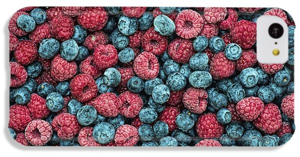 Frozen Berries IPhone 5c Case by Tim Gainey