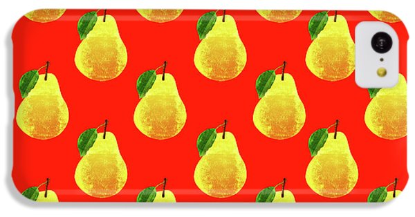 Fruit 03_pear_pattern IPhone 5c Case