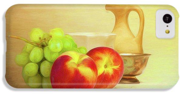 Fruit Bowl iPhone 5c Case - Fruit And Dishware Still Life by Tom Mc Nemar