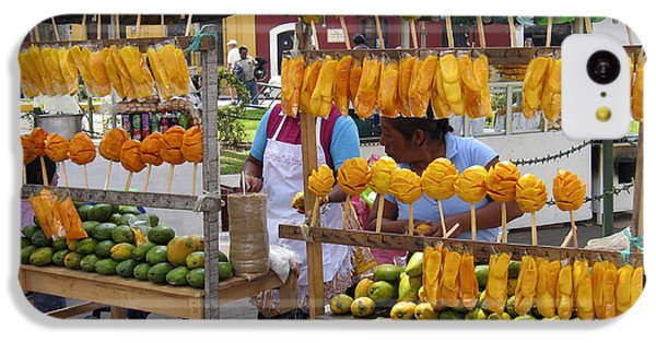 Fruit Stand Antigua  Guatemala IPhone 5c Case by Kurt Van Wagner