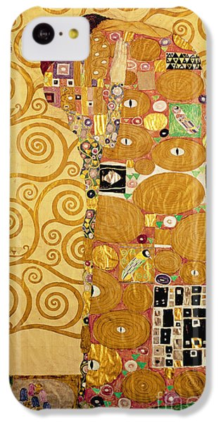 Valentines Day iPhone 5c Case - Fulfilment Stoclet Frieze by Gustav Klimt