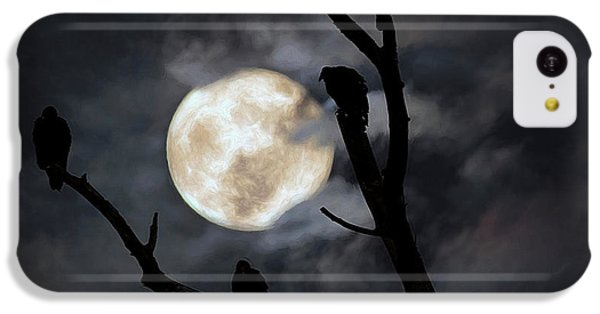 Condor iPhone 5c Case - Full Moon Committee by Darren Fisher