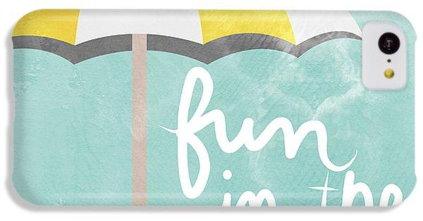 Beach iPhone 5c Case - Fun In The Sun by Linda Woods
