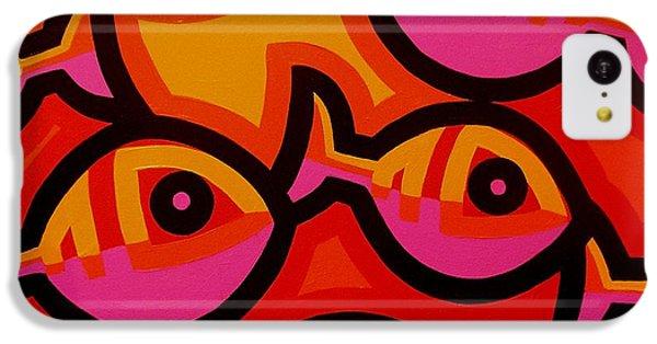 Funky Fish Iv IPhone 5c Case by John  Nolan
