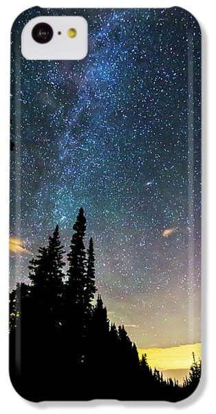 IPhone 5c Case featuring the photograph  Galaxy Rising by James BO Insogna