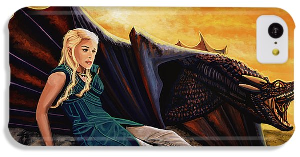 Game Of Thrones Painting IPhone 5c Case