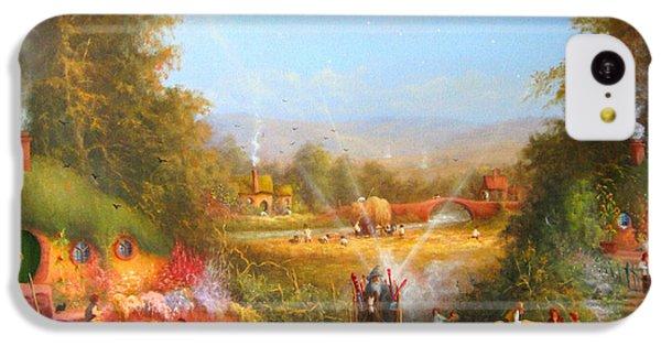 Gandalf's Return Fireworks In The Shire. IPhone 5c Case by Joe  Gilronan
