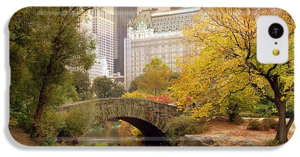 Gapstow Bridge Reflections IPhone 5c Case by Jessica Jenney