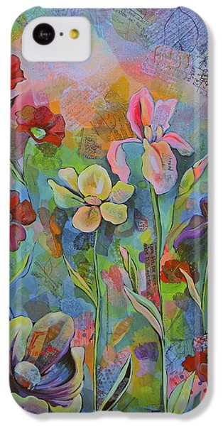 Garden Of Intention - Triptych Center Panel IPhone 5c Case