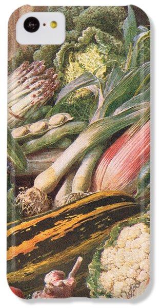Garden Vegetables IPhone 5c Case by Louis Fairfax Muckley
