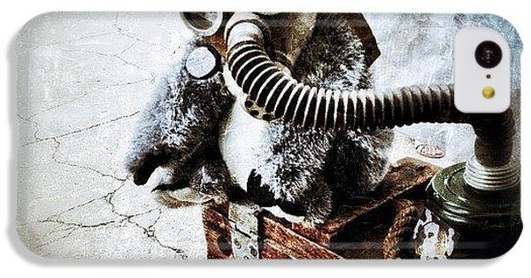 Gmy iPhone 5c Case - Gas Mask Koala by Natasha Marco