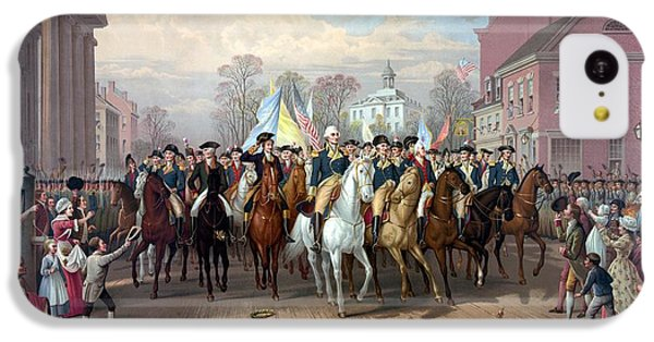 General Washington Enters New York IPhone 5c Case by War Is Hell Store