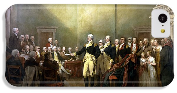 General Washington Resigning His Commission IPhone 5c Case