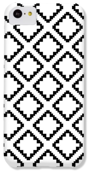 Geometricsquaresdiamondpattern IPhone 5c Case