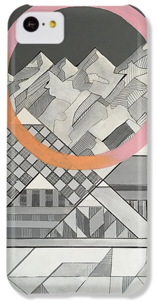 Geometry's Mountain IPhone 5c Case by Sara Cannon