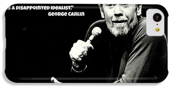 George Carlin Art  IPhone 5c Case by Pd