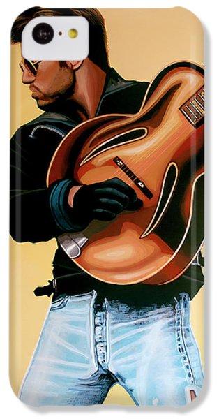 George Michael Painting IPhone 5c Case by Paul Meijering