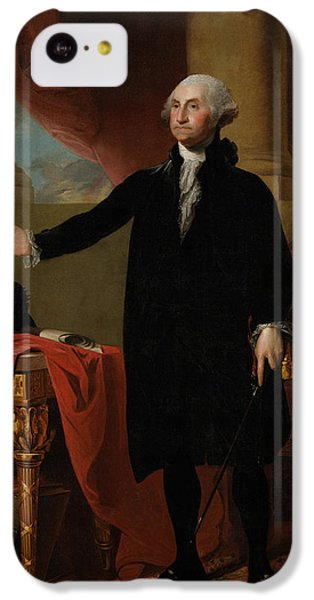 George Washington Lansdowne Portrait IPhone 5c Case by War Is Hell Store